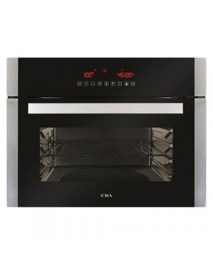 Cda VK702SS Single Oven Compact Steam & Grill, Stainless Steel